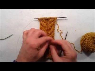 La leçon de tricot: Comment tricoter des torsades