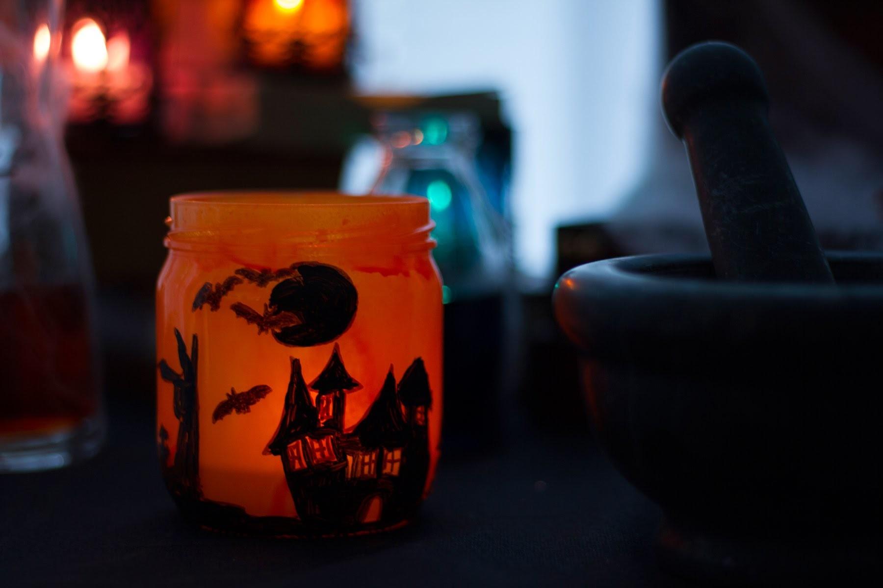 DIY Halloween - Comment réaliser une Lanterne enchantée