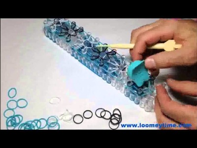 Comment mettre en place les bracelets Rainbow Loom avec la montre Loomey Time