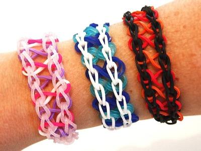 TUTO : bracelet élastique INFINI - Rainbow Loom (en Français)