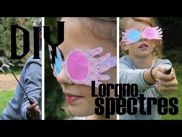 [DIY] Lorgnospectres de Luna Lovegood - Harry Potter DIY