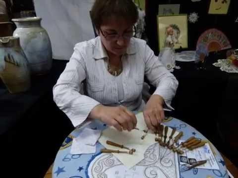 Paucourt - Journées des Créateurs et des Métiers d'Art 2014 - Danielle Varvoux, dentellière