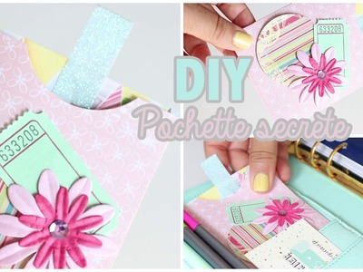 DIY # TUTO Paper craft : Pochette secrète