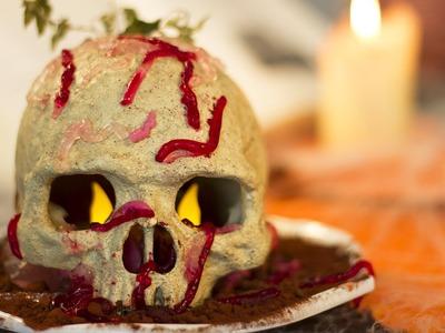 DIY Halloween - Vers de terre en gélatine