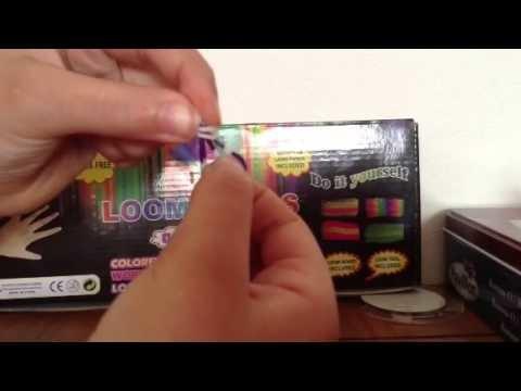 Rainbow Loom:Faire une fleur à 5 pétales en français