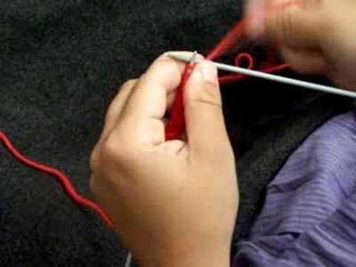 Apprendre à tricoter : point endroit, mousse