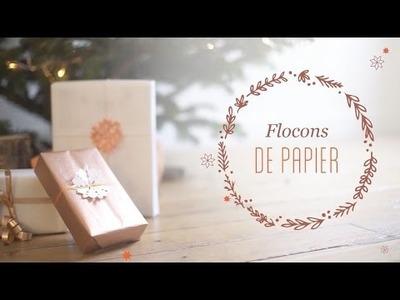 DIY Noël : Flocons de papier