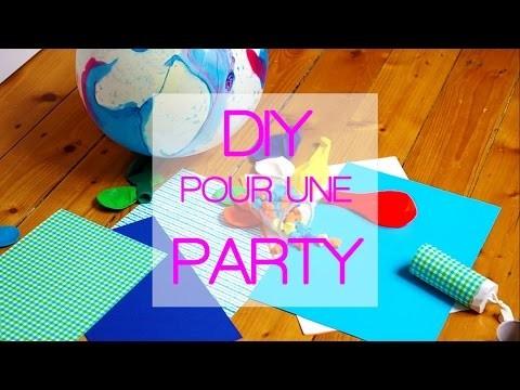 DIY POUR UNE PARTY !