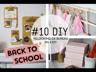 #10 DIY. Relooker son bureau en 4 DIY I BACK TO SCHOOL