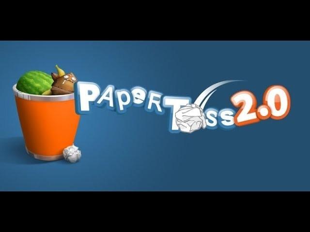 Paper Toss 2 | Jeux gratuit | Play Store.Apple store | Papier au Panier !