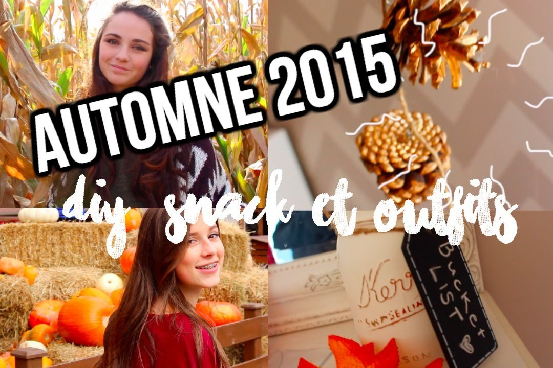 AUTOMNE | DIY, snack & outfits