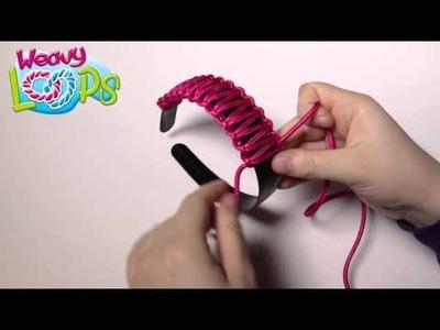 Tutoriel Weavy Loops pour décorer des objets