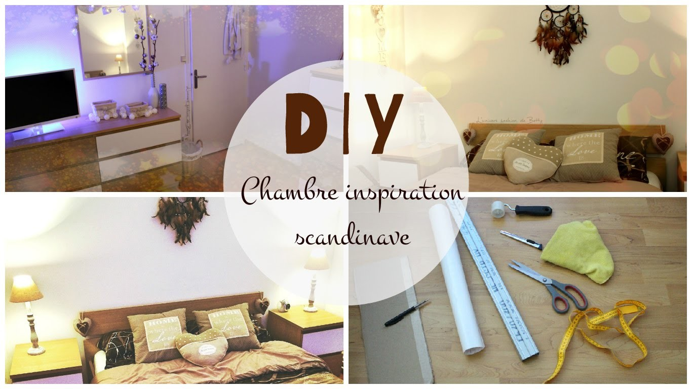 DIY⎟Chambre inspiration scandinave (customisation)