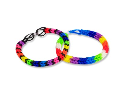 Tutoriel Bracelet Fish Double - Loom's Joustra