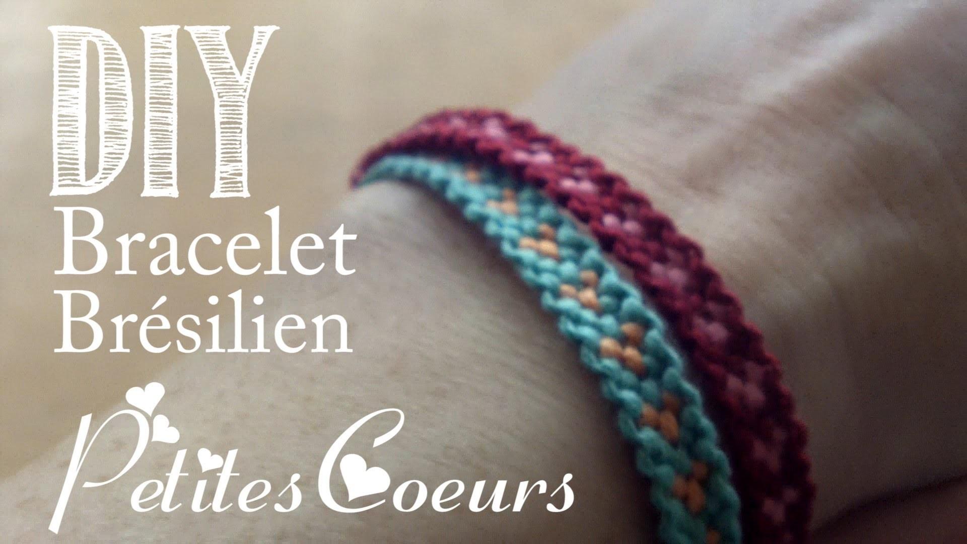 DIY : Bracelet Brésilien Petits Coeurs