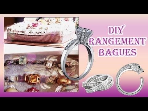 ✮ DIY Rangement pour bague ✮ Ring Organizer ✮  | Caly Beauty