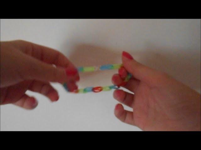 Bracelet-élastique sans métier à tisser