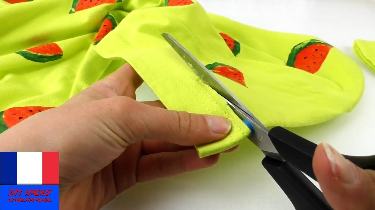 Personnaliser son T-Shirt. Idée DIY. Instructions en français