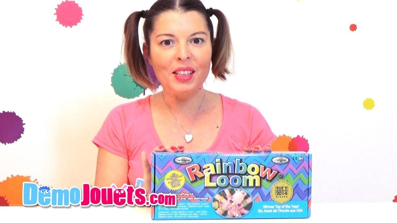 Rainbow Loom métier à tisser kit de démarrage - Démo Jouets