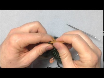 Tricoter des bas avec un talon double (en commençant par le bout du pied)