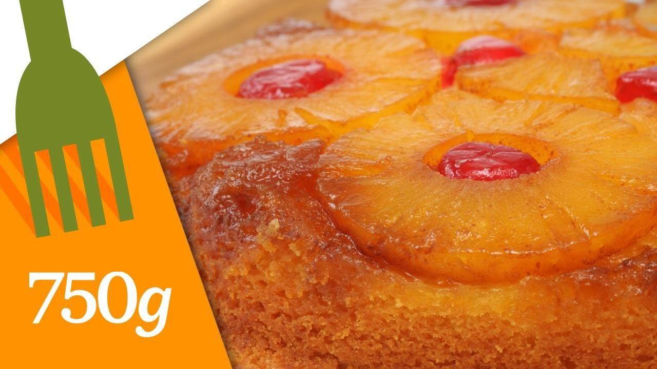 Gâteau à l'ananas caramelisé - 750 Grammes