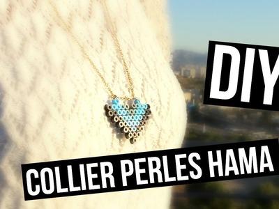 DIY ♡ Faire un collier avec des Perles Hama I DIY Français