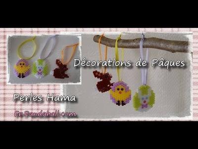 #DIY - Perles Hama Décorations de Pâques - Fr.Pandahall.com