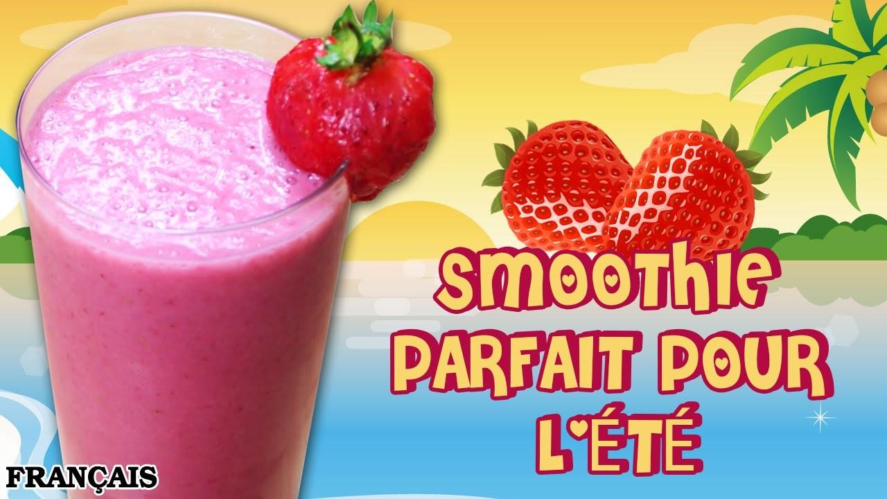 Recette Facile: DIY Summer Smoothie in French | Comment Faire Smoothie Parfait pour l'été