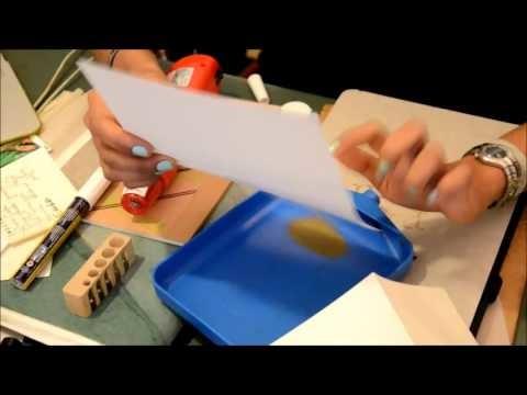 Atelier DIY Embossage - Personnalisation papiers - Quelques images
