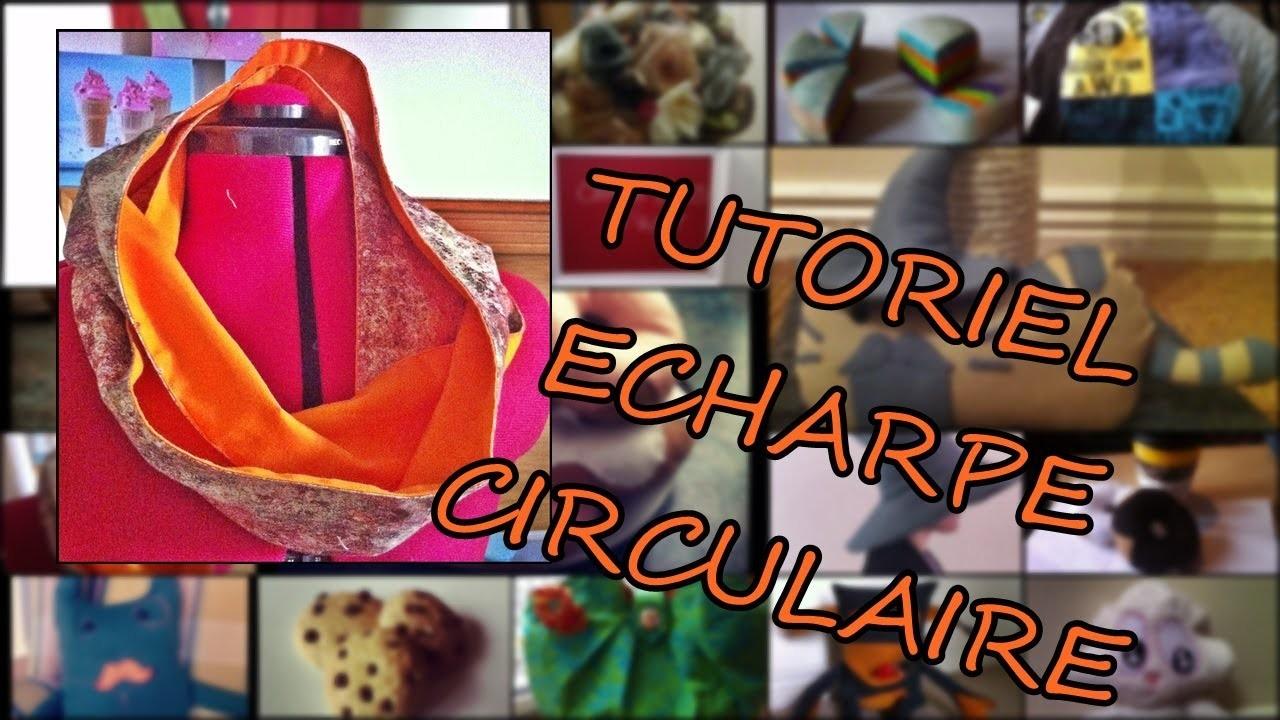 Comment fabriquer une echarpe circulaire