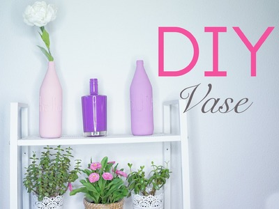 DIY : Vases colorés. Colorful vases