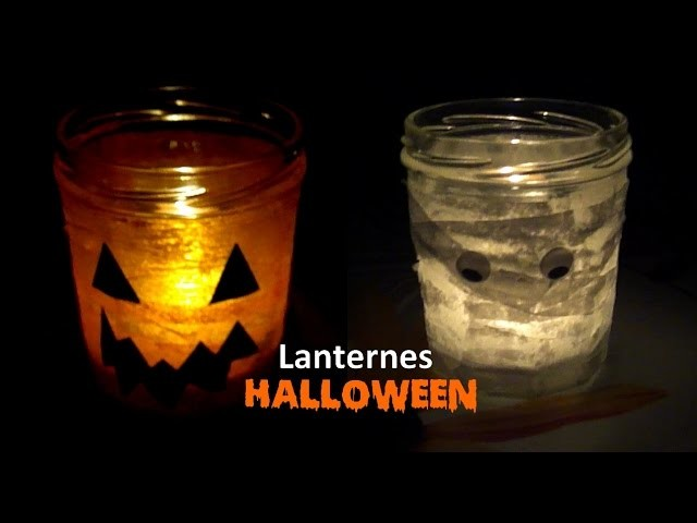 [Halloween 3] - DIY lanternes.photophores