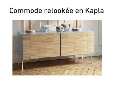 DIY : Une commode Ikea relookée en Kapla