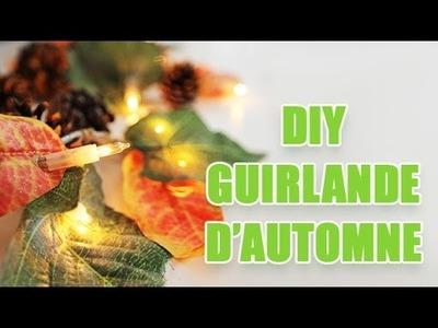 Créer une guirlande lumineuse aux couleurs de l'automne - DIY avec youMAKEfashion