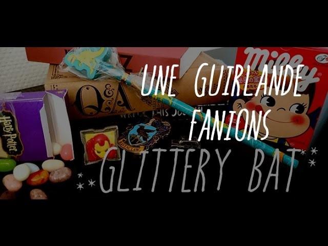 DIY Guirlande à Fanions pour décorer un placard moche