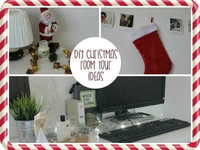 DIY christmas room tour ideas