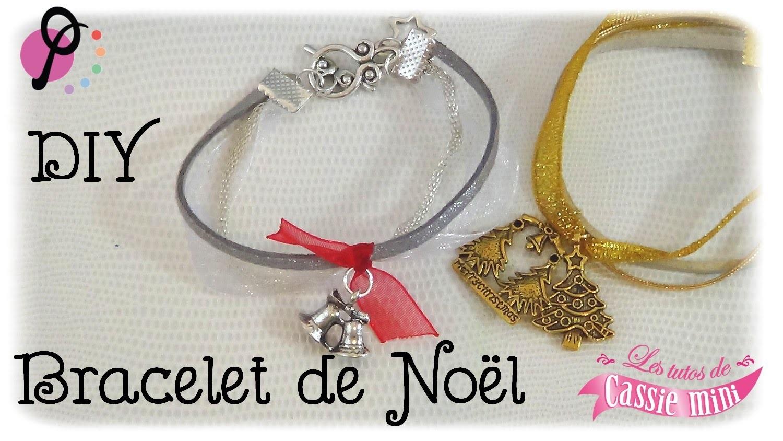 { DIY } Bracelet de Noël  pimPomPerles