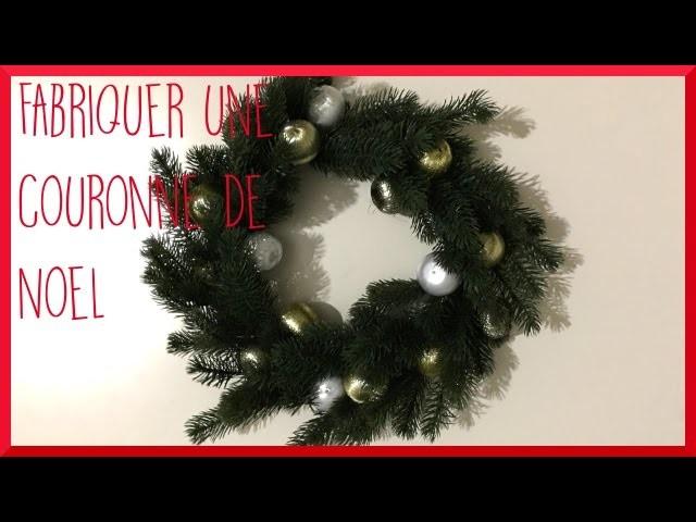 [diy] CHRISTMAS - Fabriquer une couronne de Noël - Sandra -