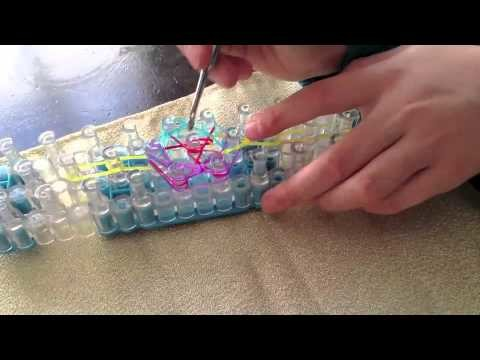 Firework Ring, rainbow loom