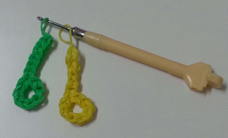 TUTO: note blanche en élastiques (crochet)