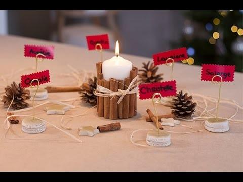 DIY Noël : Marque-places macarons