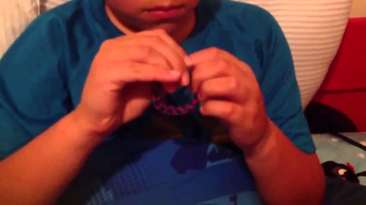 Random  1 rainbow loom bracelet