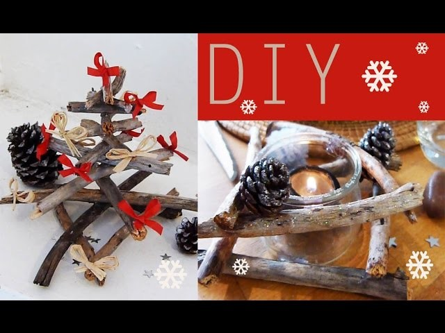 DIY : Décoration de Noël # 4 - déco de table