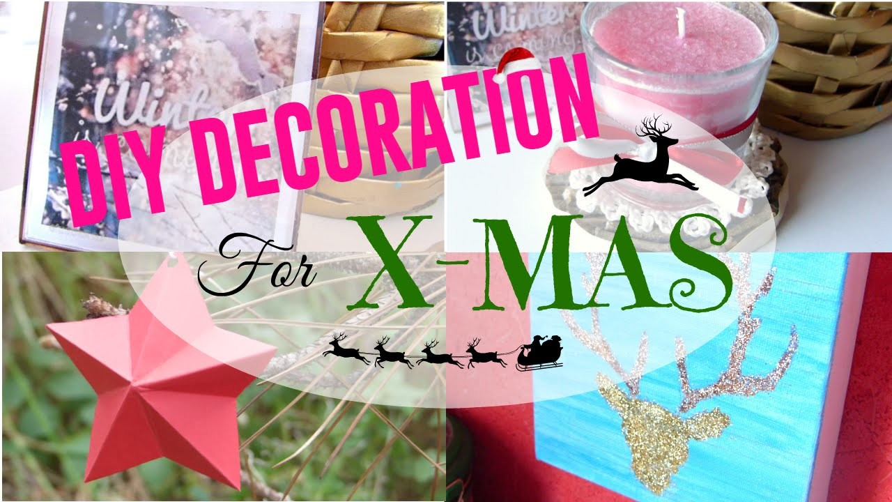 • [CHRISTMAS DIY] 5 DIY décoration de Noël •