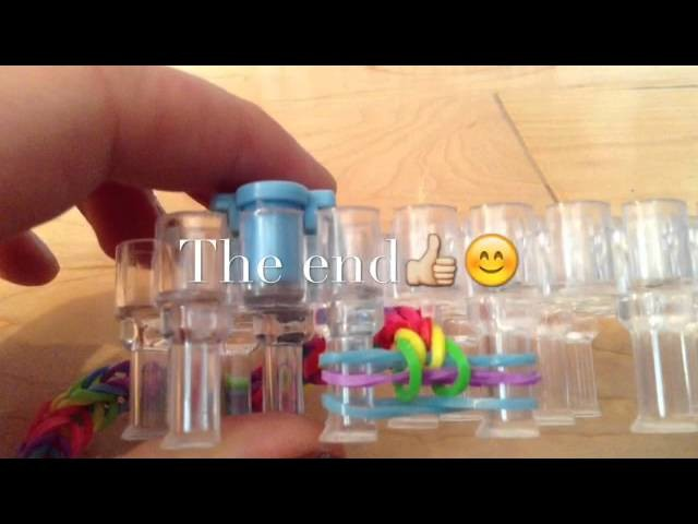 Rainbow loom,bracelet elastique