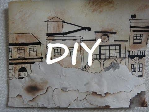 [DIY] carte d'anniversaire style Western