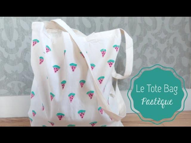 DIY Mode ♡ Le Tote Bag Pastèque