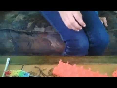Rainbow loom français: comment terminer un bracelet