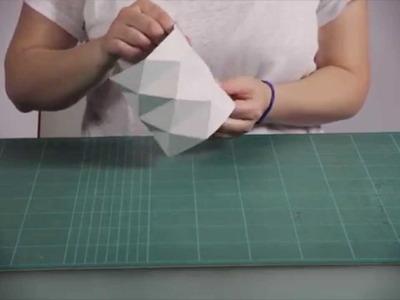 DIY : un cache-pot en papier
