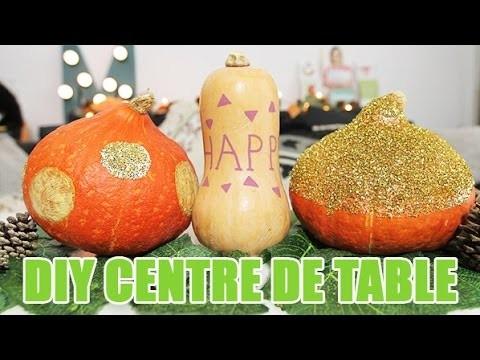 Égayez votre automne avec ce DIY centre de table spécial Automne - DIY avec youMAKEfashion